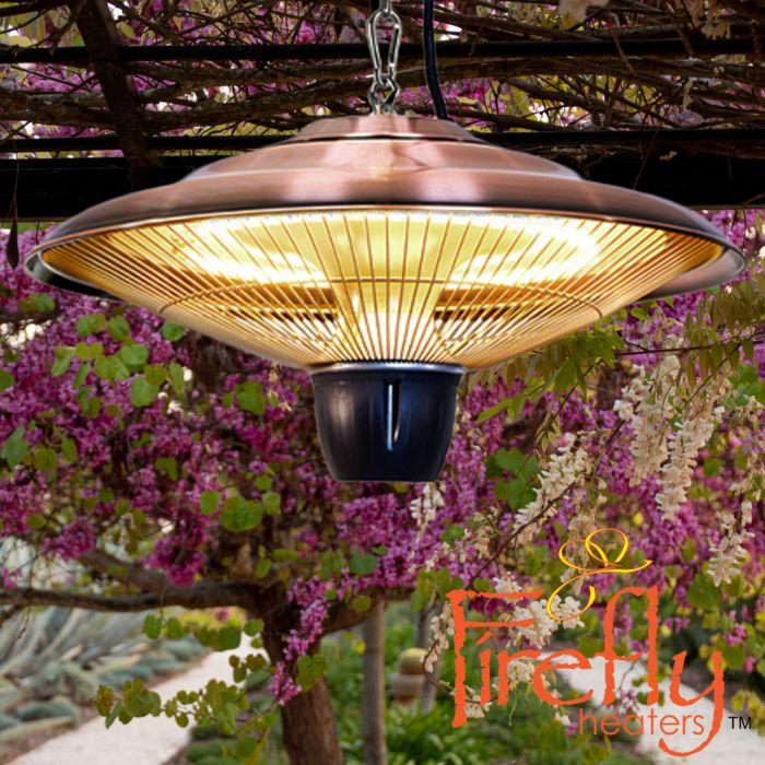 heatlab 1500w ip34 hanging patio heater copper 2