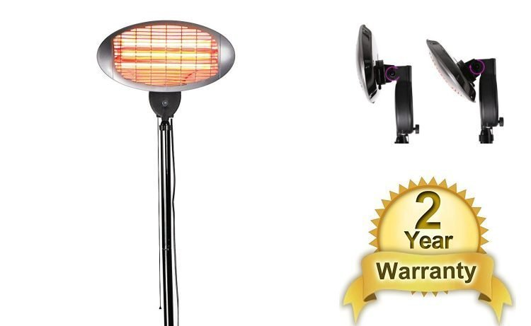 Firefly 2kW Water Resistant Electric Patio Heater