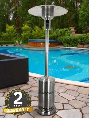 Firefly 12kW Stainless Steel Patio Heater