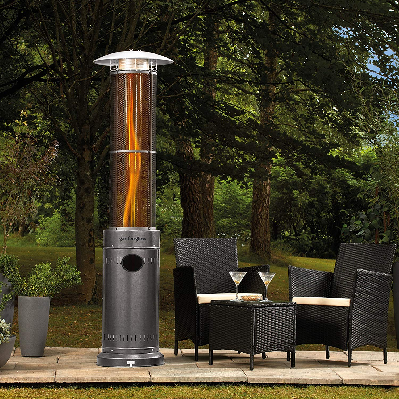 Garden Glow 15kW Circle Flame Garden Patio Heater
