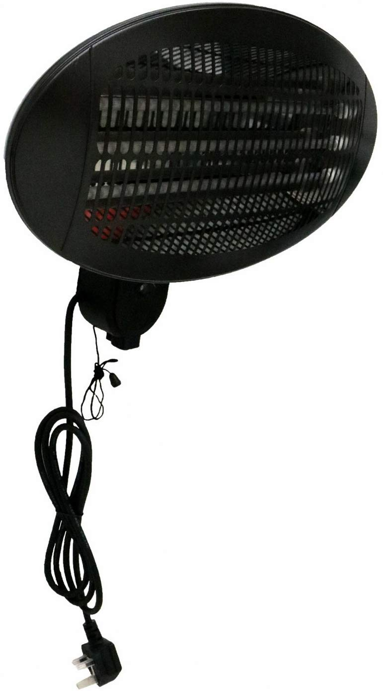 Oypla 2kW Electrical Wall Mounted Patio Heater