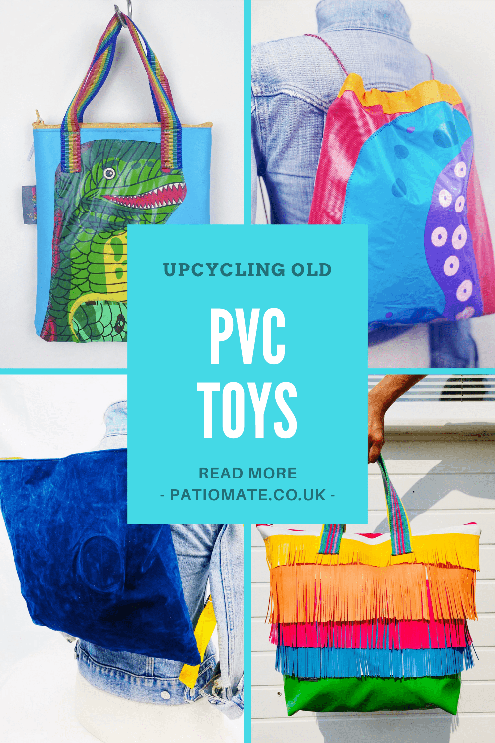 Upcycling old PVC Toys