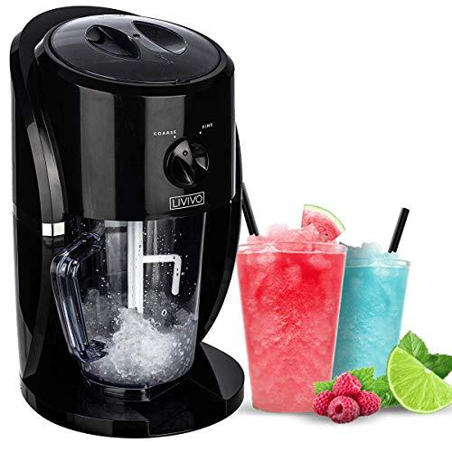 livivo electric ice crusher blender crushed slush cocktail making ice