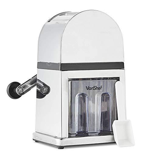 vonshef ice crusher machine manual with scoop and ice tray 900ml capacity