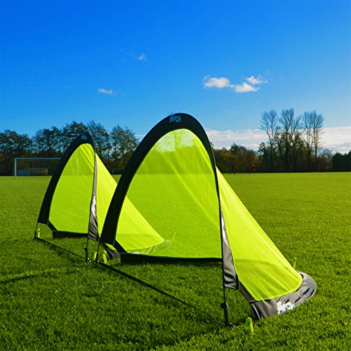 forza flash pop up football goals pair 25ft 4ft or 6ft the best