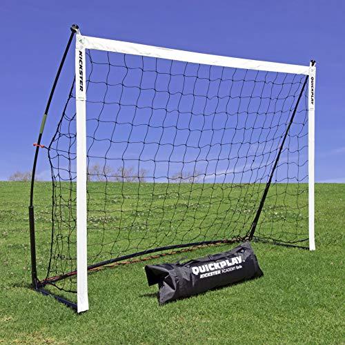 quickplay kickster academy football goal 6x4 ultra portable football