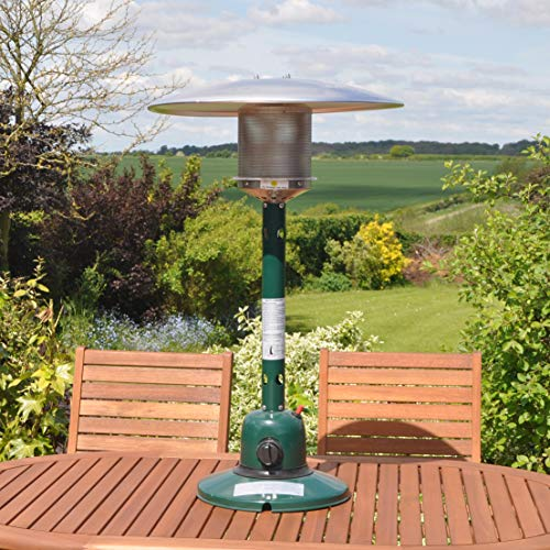 kingfisher ph300 garden outdoor table top patio heater multi colour