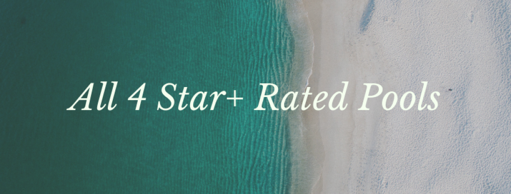 All 4 Star Rated Pools