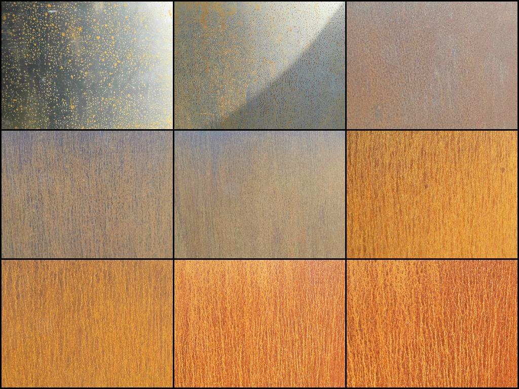 Weathering Process for Corten Steel